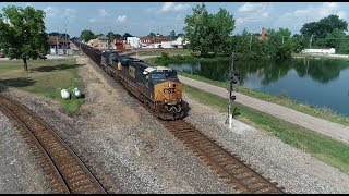 A Day of Trains at Deshler