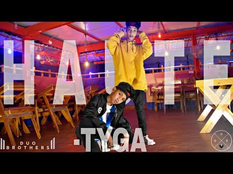 Tyga - Haute (Official Video) Ft. J Balvin, Chris Brown || AMIT X ANISH_CHOREOGRAPHY || GOB CREW || - Duo Brothers