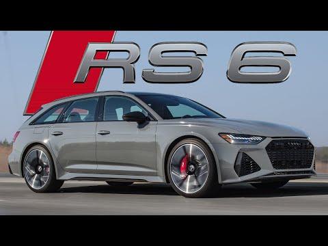 WILD! 2021 Audi RS6 Avant Wagon Review