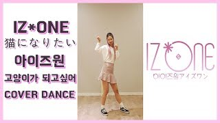 IZ*ONE (아이즈원)- 猫になりたい (Nekoni Naritai) COVER DANCE MIRRORED