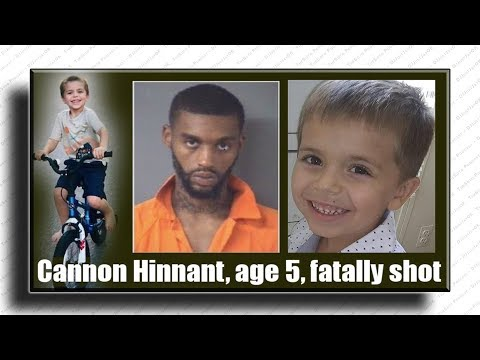 "🔴 5yr old ""Cannon Hinnant"" shot/killed while playing w/his sisters! 🕵🏾 arrested ""Darius Sessoms"""