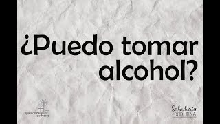 ¿Puedo tomar alcohol?