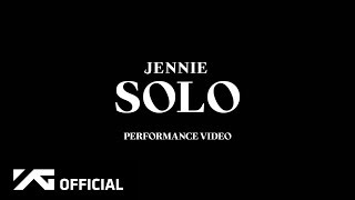 JENNIE   'SOLO' PERFORMANCE VIDEO