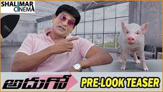 Adhugo Movie Pre-Look Teaser || Ravi Babu || Prashanth Vihari || Shalimarcinema
