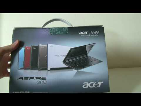 Acer Aspire One D255 Unboxing and Hands On