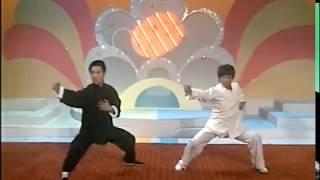 [南北拳路] 劉家良及李連杰對打1986
