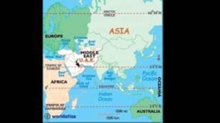 Location of my country (UAE)الإمارات