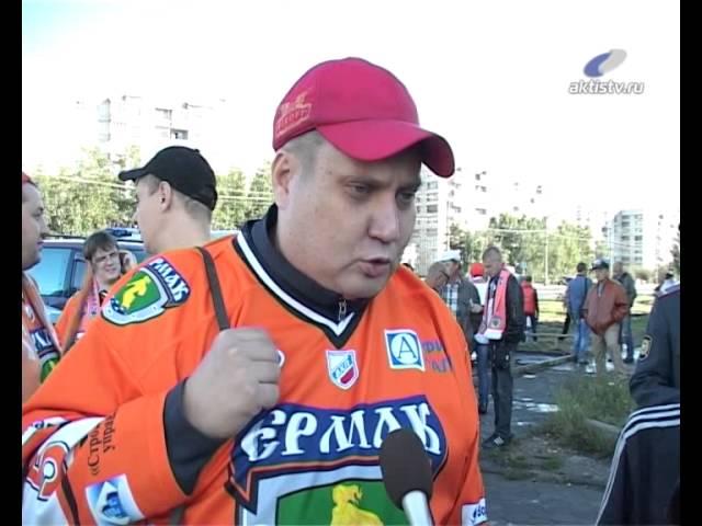 Хоккейный сезон снова открылся «оранжевым» маршем