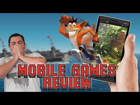 Crash Bandicoot Mobile Games Review – Square Eyed Jak