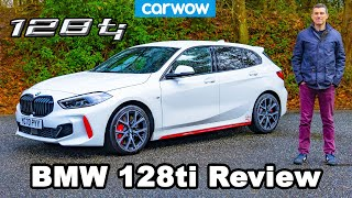 [carwow] BMW 128ti 2021 review - the best FWD hot hatch you can buy?