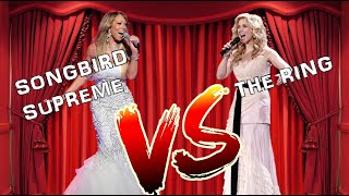 Mariah Carey Vs Lara Fabian | AMAZING Belting Battle (A4 G5)