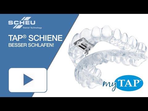 Besser schlafen mit der TAP®-Schiene (Anti-Schnarch-Schiene)