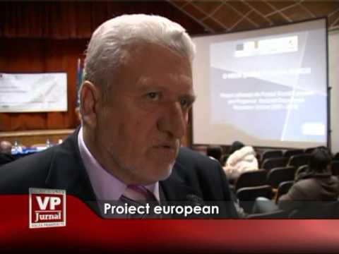 Proiect european