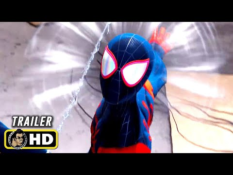 SPIDER-MAN: MILES MORALES (2020) Spider-Verse Suit Reveal Trailer [HD] PS5 Video Game