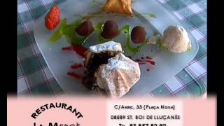preview picture of video 'Restaurant Ca La Mercè'
