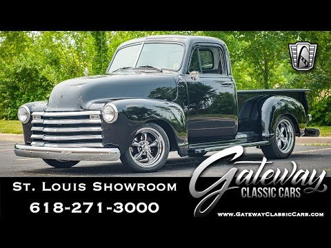 Video of Classic 1948 Chevrolet 3100 located in O'Fallon Illinois Offered by Gateway Classic Cars - St. Louis - QBA0