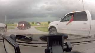 Storm Chasing Oklahoma May 31, 2013 'Widest Tornado In History'