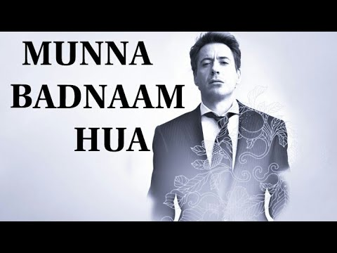 MUNNA BADNAAM HUA || DABANGG 3 || IRON MAN TRIBUTE || FUNNY VIDEO !