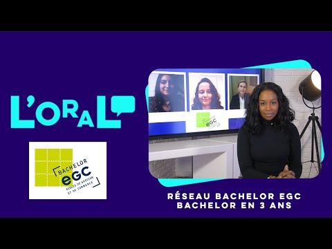 L'oral : Bachelor réseau EGC