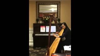 Thanksgiving Harp Performance