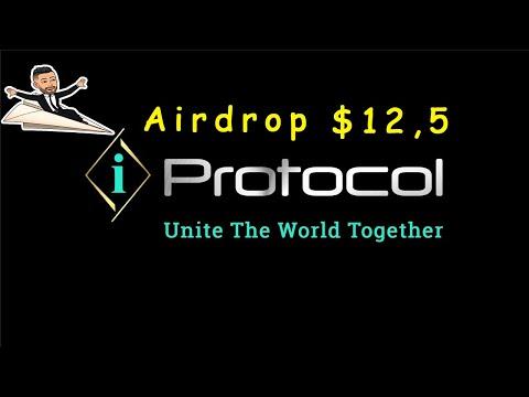Ganhe U$12,5 Dólares Grátis no Airdrop iProtocol Network !