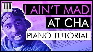 Jazz Piano Lesson #8: Tupac - 'I Ain't Mad At Cha' (Piano Tutorial) | Nathaniel Coke