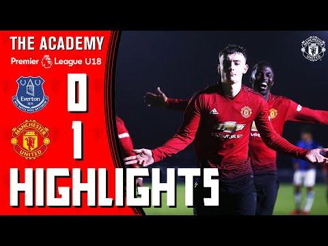 U18 Highlights | Everton 0-1 Manchester United | The Academy