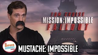 We Mustache Henry Cavill Some Mission: Impossible Questions
