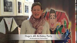 Hugo's 4th birthday party