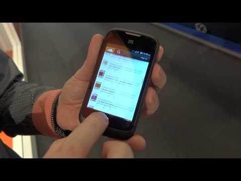 Zte Open con Firefox OS - Anteprima MWC 2013
