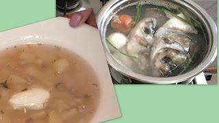 Как приготовить ароматную  УХУ из речной рыбы дома с запахом костра