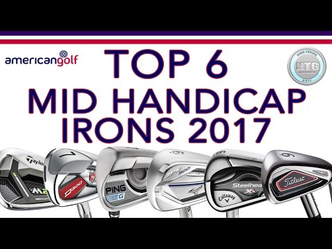 TOP 6 Mid handicap irons in 2017 | Review | American Golf