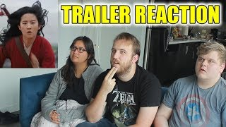 Mulan Teaser Trailer Reaction!