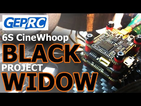 BLACK WIDOW 6S CineWhoop   Установка электроники Geprc Stable Pro F7 Stack