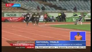 National athletics trials enter day two with winners set to represent Kenya in Durban