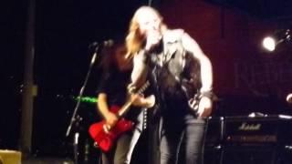 """DANGEROUS TOYS """"Gimme No Lip"""" at Batfest, Austin, Tx. August 23, 2014"""