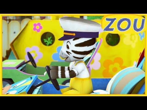 Zou en Français 🚢 COMMANDANT ZOU  🐙 Dessins animés