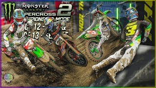 Face First Doubleheader! | Race 12 & 13 | Monster Energy 2 Championship Mode