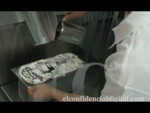 Así se prepara un helado artesanal con tecnología del siglo XXI