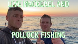 Live Mackerel And Pollock Fishing With Relocations Tv