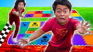 Ultimate Giant Board Game 2 Challenge for $100,000 - (ft. @Marlin)