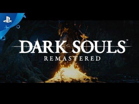 DARK SOULS: REMASTERED Announcement Trailer   PS4
