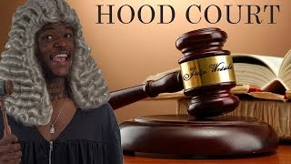 Hood Court – @DcYoungFly as Judge Westside – Ft. @Navv2Rude & @Moneybag_Mafia