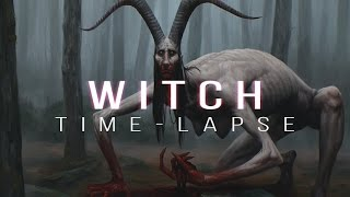 Witch - Digital Painting Time-lapse