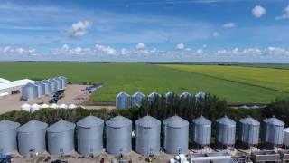 Canadian farmers. (4K video)