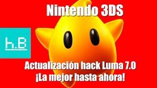 Actualización Luma 7.0 + Cómo actualizar Nintendo 3DS