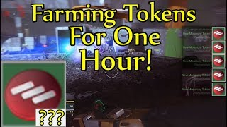 Destiny 2 - How Many Faction Tokens Can You Farm In 1 Hour? (Titan Lost Sector Farm)