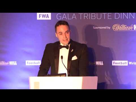 Gareth Southgate tribute speech