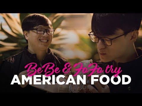 Bebe & Fofo 明星賽 吃美國速食的訪問