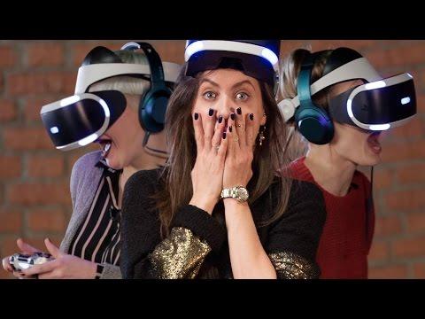 Реакция актрис и тусовщиц на ужасы VR: Миногарова, Шумакова, Ревенко и еще 4 девушки